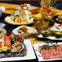 ◆プレミアム懐石◆<山城牛×タラバガニ×鮑>豪華食材の饗宴-沖縄唯一の美食懐石で彩る至福のひとときA