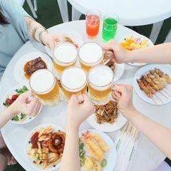 夏はビアガーデンで決まりっ★≪飲み放題・食べ放題≫ビア三昧プラン