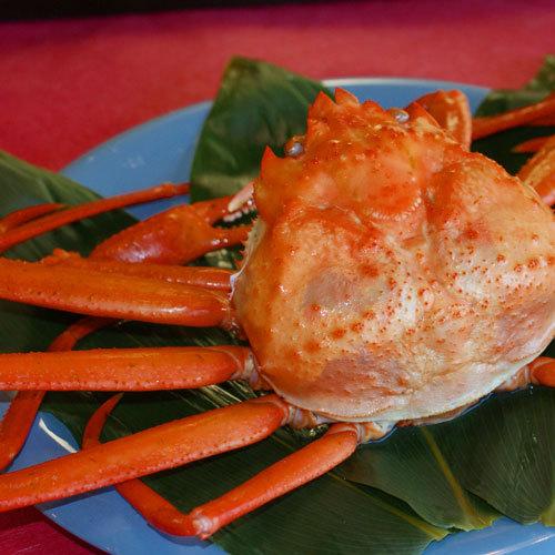 【カニ釜飯&カニ1杯付プラン】〜旬の紅ズワイガニと新鮮地魚料理を満喫〜1泊2食付
