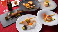 【春夏旅セール】カップルにオススメ♪お魚料理と選べるお肉料理のフレンチイタリアンディナー付(朝食付)