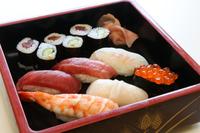 (上)寿司出前付プラン