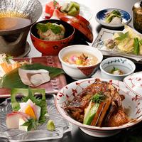 【基本通年】一人ずつ選べるメイン「郷土料理浜ちゃん鍋」or「讃岐夢豚鉄板焼」付♪カジュアル会席