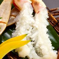 季節限定!「レッドタグ付松葉蟹!1名に1杯」松葉蟹会席で贅沢なひととき♪【幼児添い寝無料】