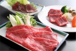 美味但馬牛★ステーキ+しゃぶしゃぶ+ローストビーフプラン
