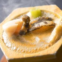 ★★【期間限定】アツアツ石焼『鮑×肝ソース』♪ 濃厚な味わいがジュワっと染み出す、美食との出逢い