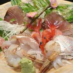 【二代目おまかせ】旬の魚に舌鼓!こだわりの荒磯料理(海鮮プラン)約10品の懐石【加賀ていねいプラン】