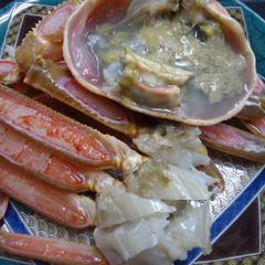 【冬★加賀の味覚旅〜加能ガニ夕食のみ〜】蟹フルコースの翌朝はいつも満腹で朝食が入らない方に!