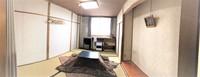 和室6畳〜16畳(こたつ暖房有)トイレとお風呂共用です。