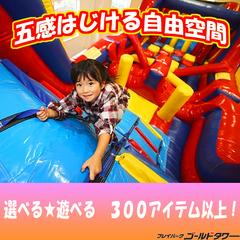 【温泉入浴券+朝食付】ファミリー・カップル遊び放題!ゴールドタワーパークパスプラン