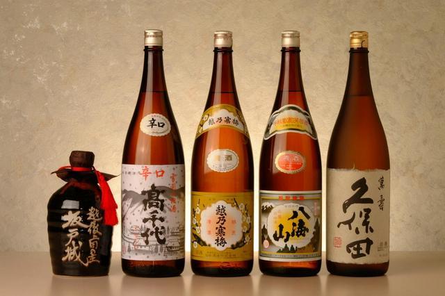 新潟の地酒を樂しむ