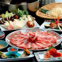 一泊2食付き♪和豚もちぶたしゃぶしゃぶ+朝食+えらべる地酒プラン!