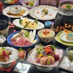 【桜海老】のお刺身と桜海老の釜飯付会席プラン