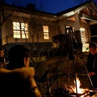☆今,話題のグランピング☆宿泊プラン\森のコテージ・焚き火を囲んで盛り上ろう/
