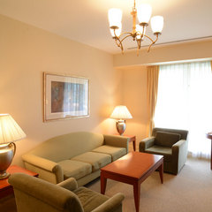 【禁煙】砺波平野を望む当ホテルで一番いいお部屋(57平米)