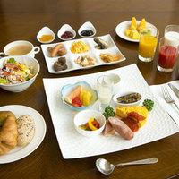 【朝食のみ】健康朝食〜ワンプレート&35品目となみ野モーニングブッフェ〜ゆったりとした時間を過ごす旅