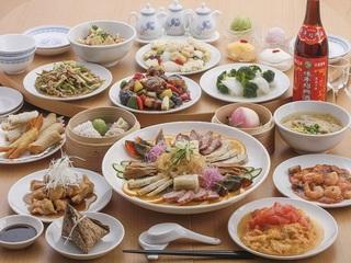 熱々食べ放題!本格中華のご夕食+和洋選べる朝食付き♪【味覚】