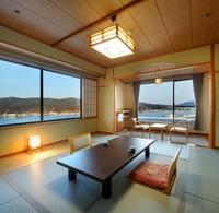 ◇喫煙◇【港側 和洋室(角部屋)】10畳+16平米 ツイン