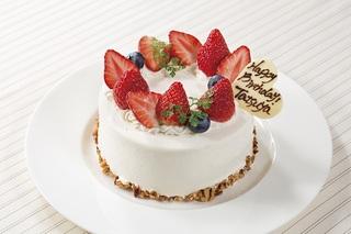 【記念日プラン】メッセージ入りオリジナルケーキ・朝食バイキング付き