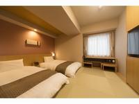 【禁煙】23平米◇和風ツインルーム◇最上階大浴場完備