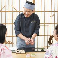 草津温泉で和菓子作り体験〜night sweets from 17◆◆◆
