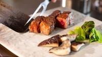 【 鉄板焼 高崎コース 】 国産黒毛和牛と大分県産海鮮のステーキコース