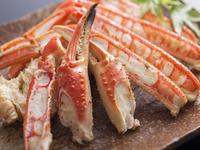 ◇魚介の舟盛とカキも味わえるカニフルコース◇で丹後の冬満喫♪