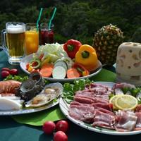 【春夏旅セール】ヴィラBBQ食材セット×機材貸出付!気軽にBBQが楽しめます/朝夕2食付き
