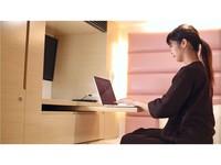 ★女性限定★【上段キャビン】WIFI&24型液晶テレビ完備