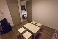 【禁煙】アパートメントルーム(シングルベッド4台)