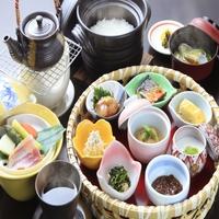 【さき楽45】45日前までのご予約がお得/天翠茶寮で食を愉しむ箱根旅<■特選懐石>