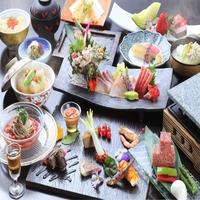 【楽天スーパーSALE】5%OFF+ポイント10倍。和食と美肌温泉・日本の美を愉しむ<■特選懐石>
