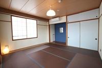 和室8畳 共用のキッチン・シャワー・トイレ