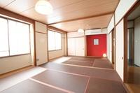 和室14畳 共用のキッチン・シャワー・トイレ