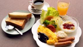 1日の始まりは美味しい朝食から!スタンダードプラン【朝食付(洋食)】