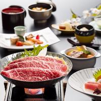 【春の黒姫会席膳】メイン料理は長野県産りんご和牛すき焼き