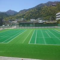 テニスを温泉宿で満喫!