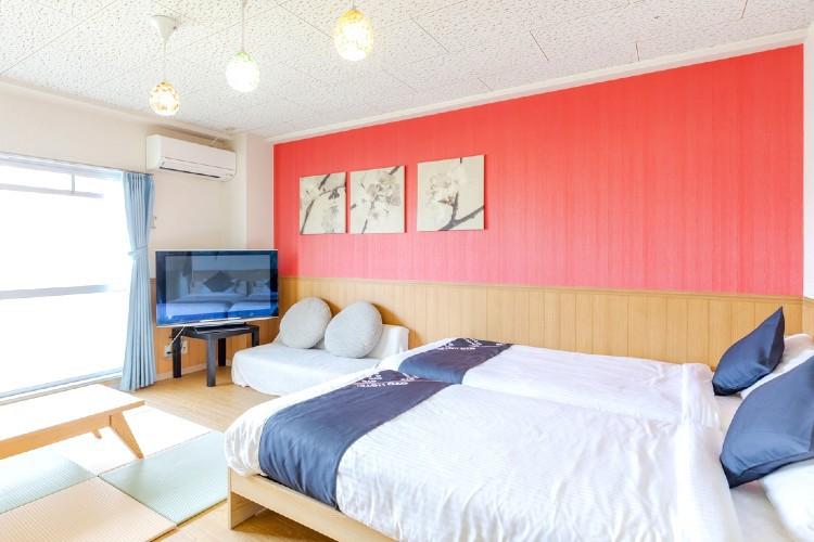 清潔でキレイなお部屋・WIFI完備