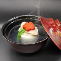 【2月限定】蛤しんじょをお吸い物仕立てで そして鱈と雲子の雪見鍋を (1泊2食付)