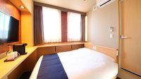 全室禁煙◆ダブルルーム◆13平米/ベッド140cm×1台