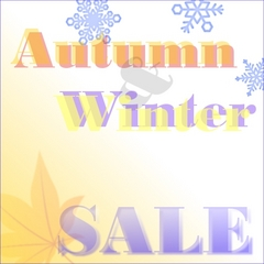 2017 Autumn & Winter SALE