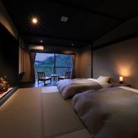 【和室8畳 + 広縁 + バス付】 桜側のモダン和室(禁煙)