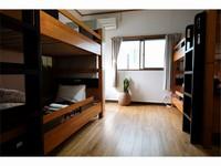 4人部屋 個室/2段ベッド/FREE WiFi /禁煙