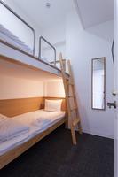 2段ベッドルーム【セミダブル】【全室完全個室・鍵付】