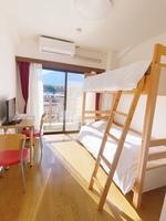 【部屋から富士山をご覧いただけます】2段ベッドルーム素泊り