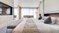 【セミスイートダブル】キングサイズベッド(50〜60平米)