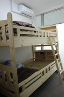 【通常プラン】2人部屋(二段ベッド)
