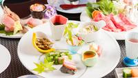【スタンダード】山海創作料理プラン 最高級A5ランクとちぎ和牛料理付き【北関東魅力プラン】