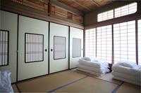 【洋室】【素泊まりゲストハウス】 【鍵付き個室】※トイレ・風呂は共同
