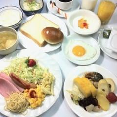 【お手頃:ご夕食《ルームサービス》&ご朝食バイキング付きプラン】