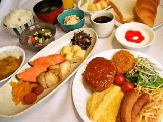 GoToおすすめ ご夕食《コースディナー7品+90分飲み放題付き》&ご朝食バイキング付きプラン